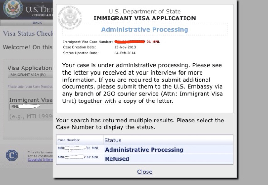 my CEAC Status confuse me   help anyone    - US Embassy and