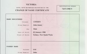 Australian passport name change process australia and new vic name change certificate example post 69339 12694050813096thumbg yadclub Choice Image