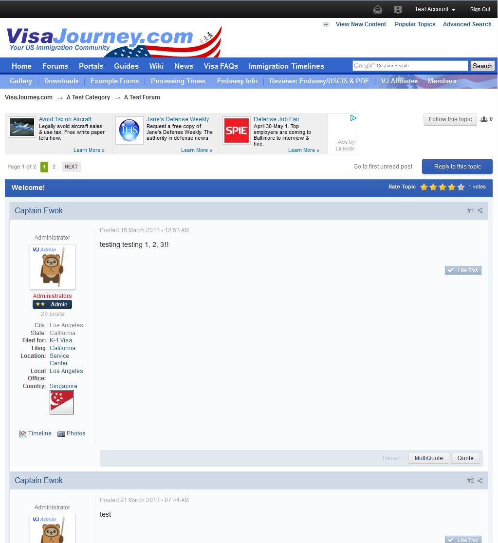 Naturalization Site Visajourney Com