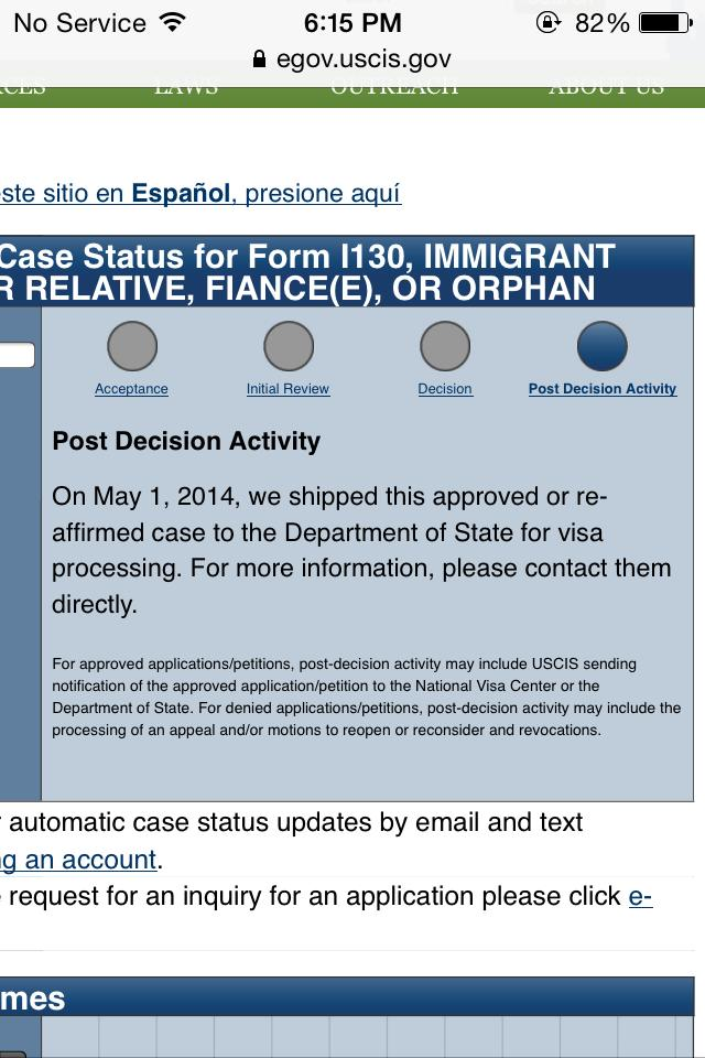 ALL Nebraska I-130 Filers - 2 - IR-1 / CR-1 Spouse Visa Case ...