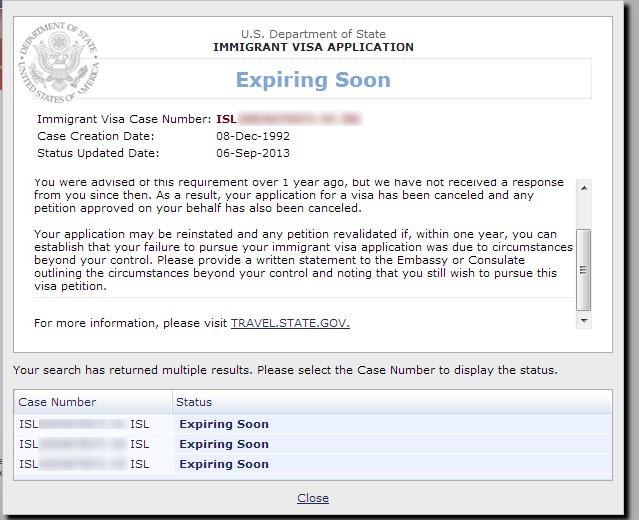 F4 visa status