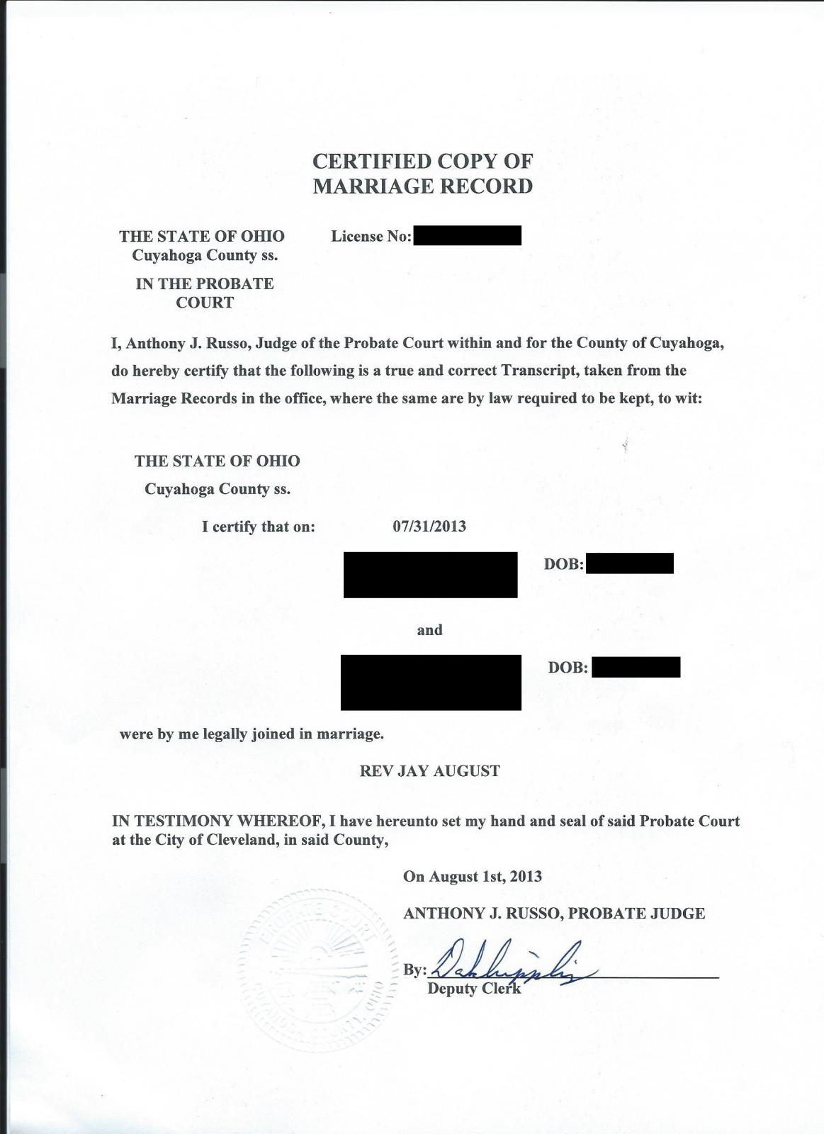 Certified Copy Of Marriage Certificate Ir 1 Cr 1 Spouse Visa