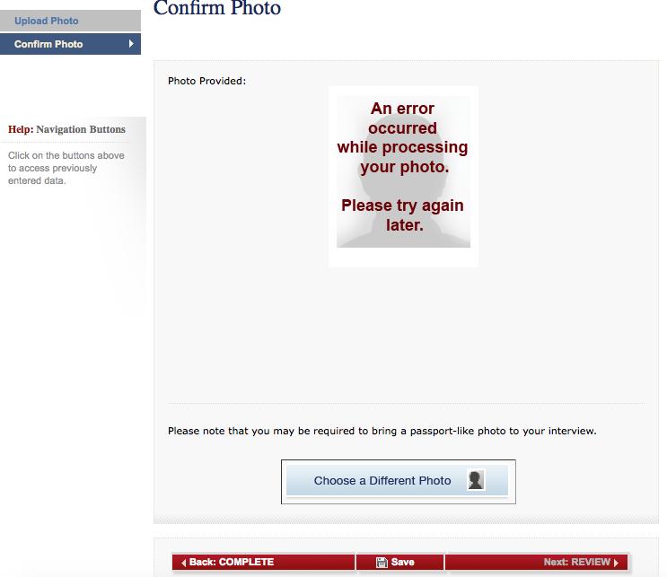 Error Message Ds 160 Please Help K 1 Fiancee Visa Case Filing