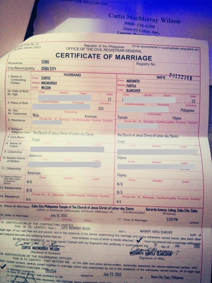 Marriage Certificate How To Get It Authenticated And How Do You