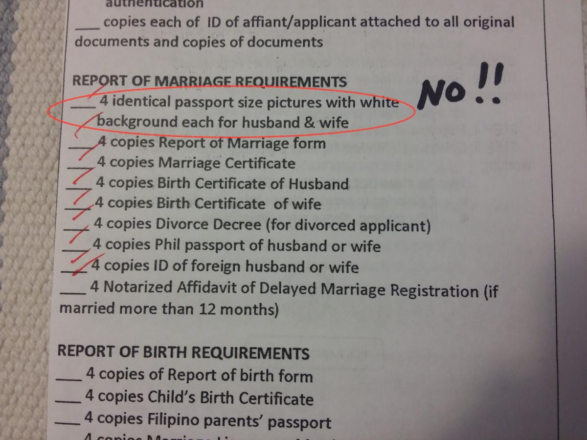 report of marriage los angeles