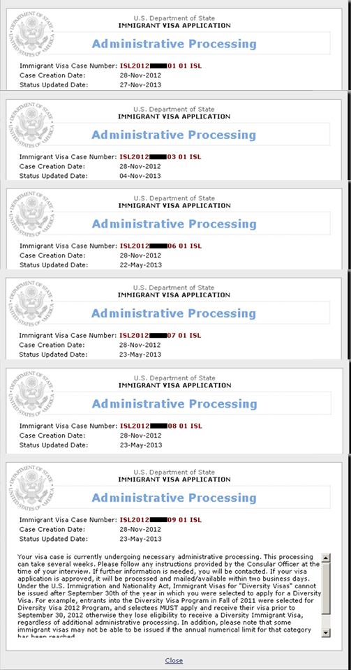 221g Refusal And Administrative Processing