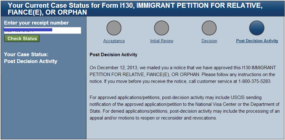 Approved i-130 under F2B category - Bringing Family Members