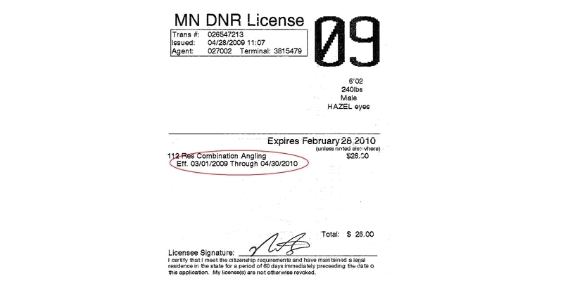 Minnesota Fishing License And Citizenship Requirement