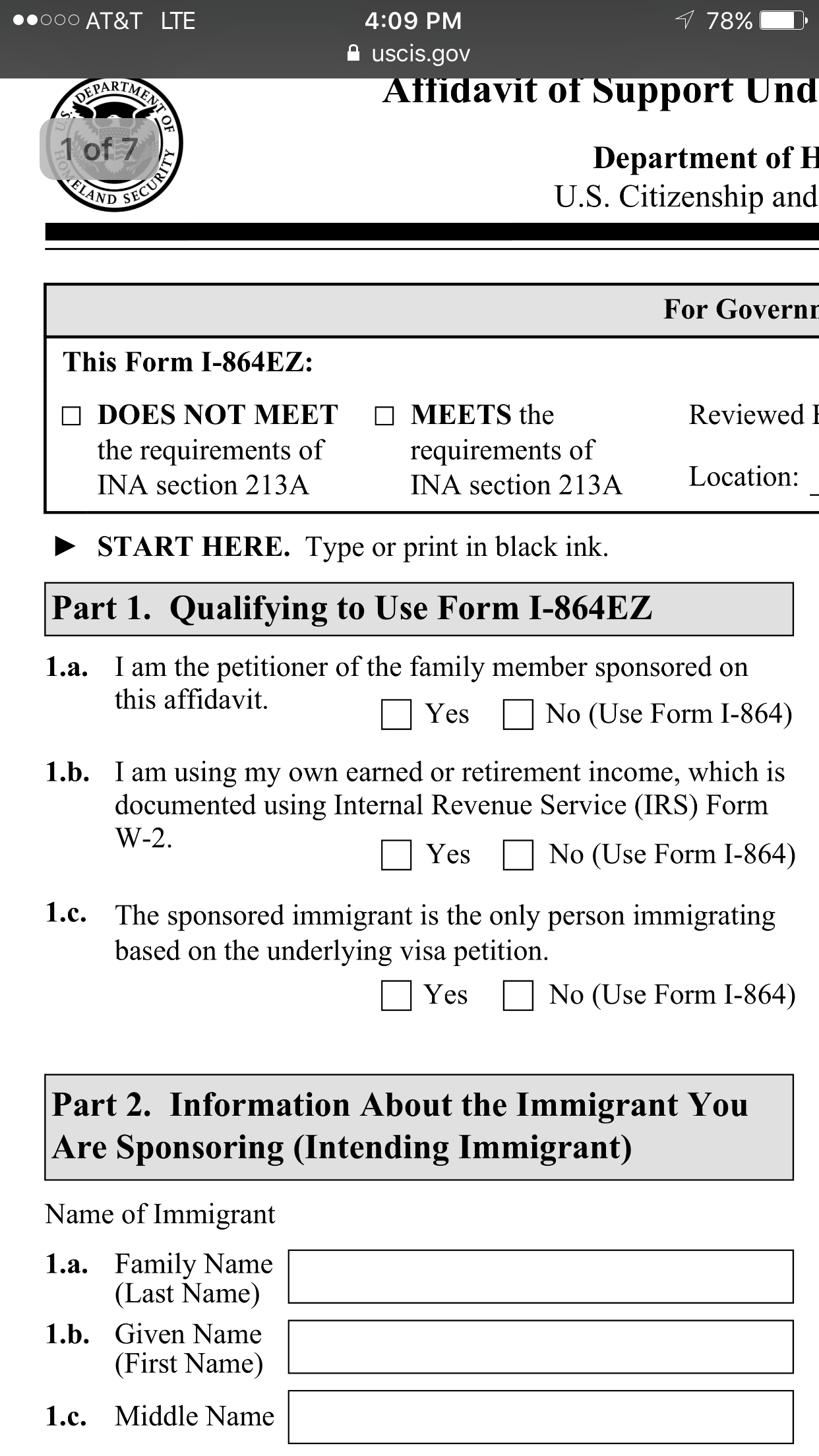 Aos k1 864 vs 864ez adjustment of status green card from k1 see the other requirements with my attached screenshots falaconquin