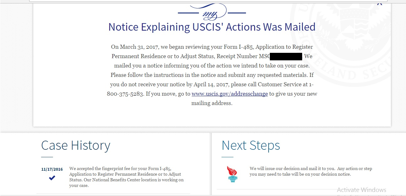 USCIS Decision Notice??? What does this mean? - Adjustment of ...