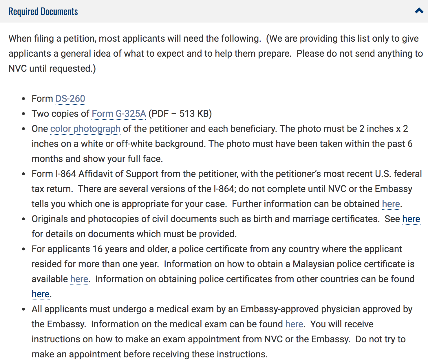 Police cert when is it needed k 1 fiancee visa process required documents from myg falaconquin