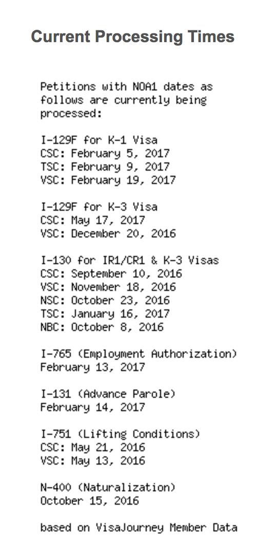 ALL Nebraska I-130 Filers - 2 - Page 37 - IR-1 / CR-1 Spouse Visa ...