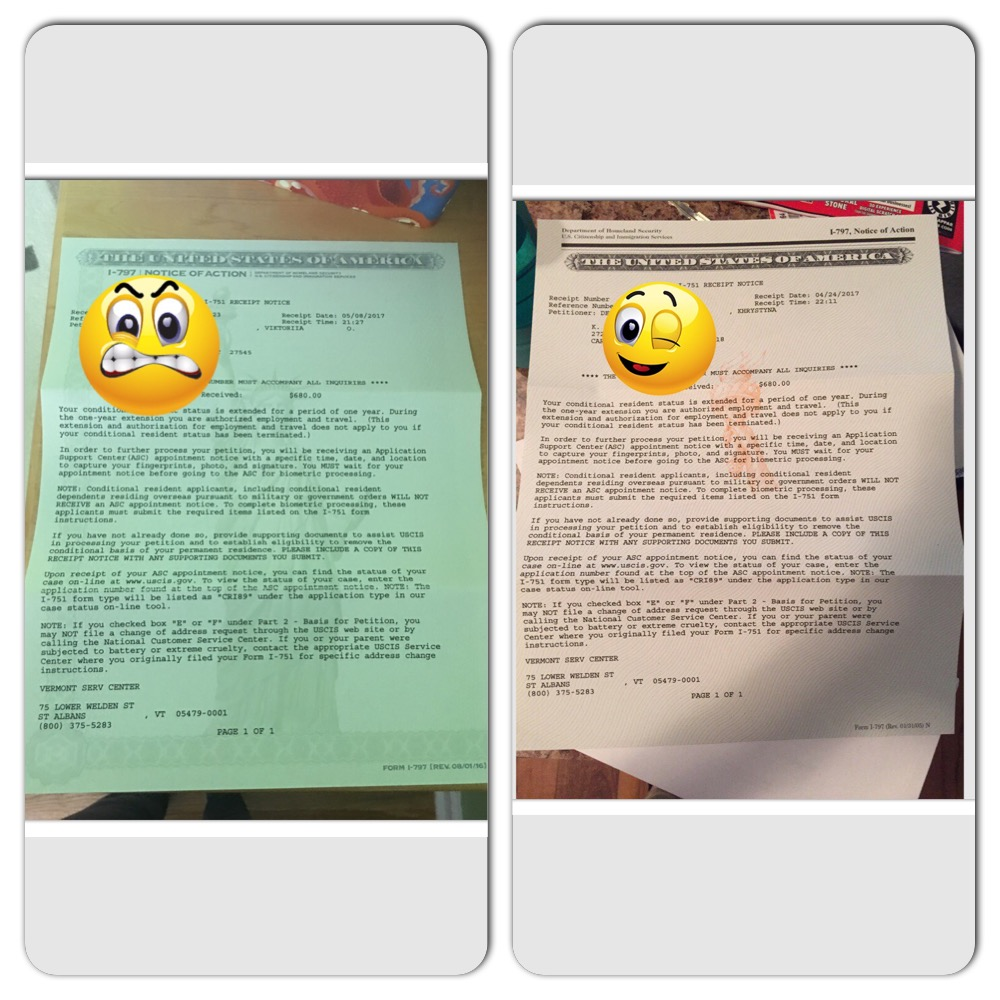I 751 receipt notice looks different split removing conditions edited may 31 2017 by vikiph falaconquin