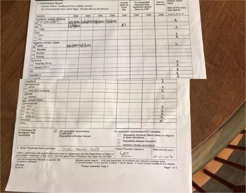 K 1 visa i 693 question adjustment of status green card from k1 vaccineg falaconquin