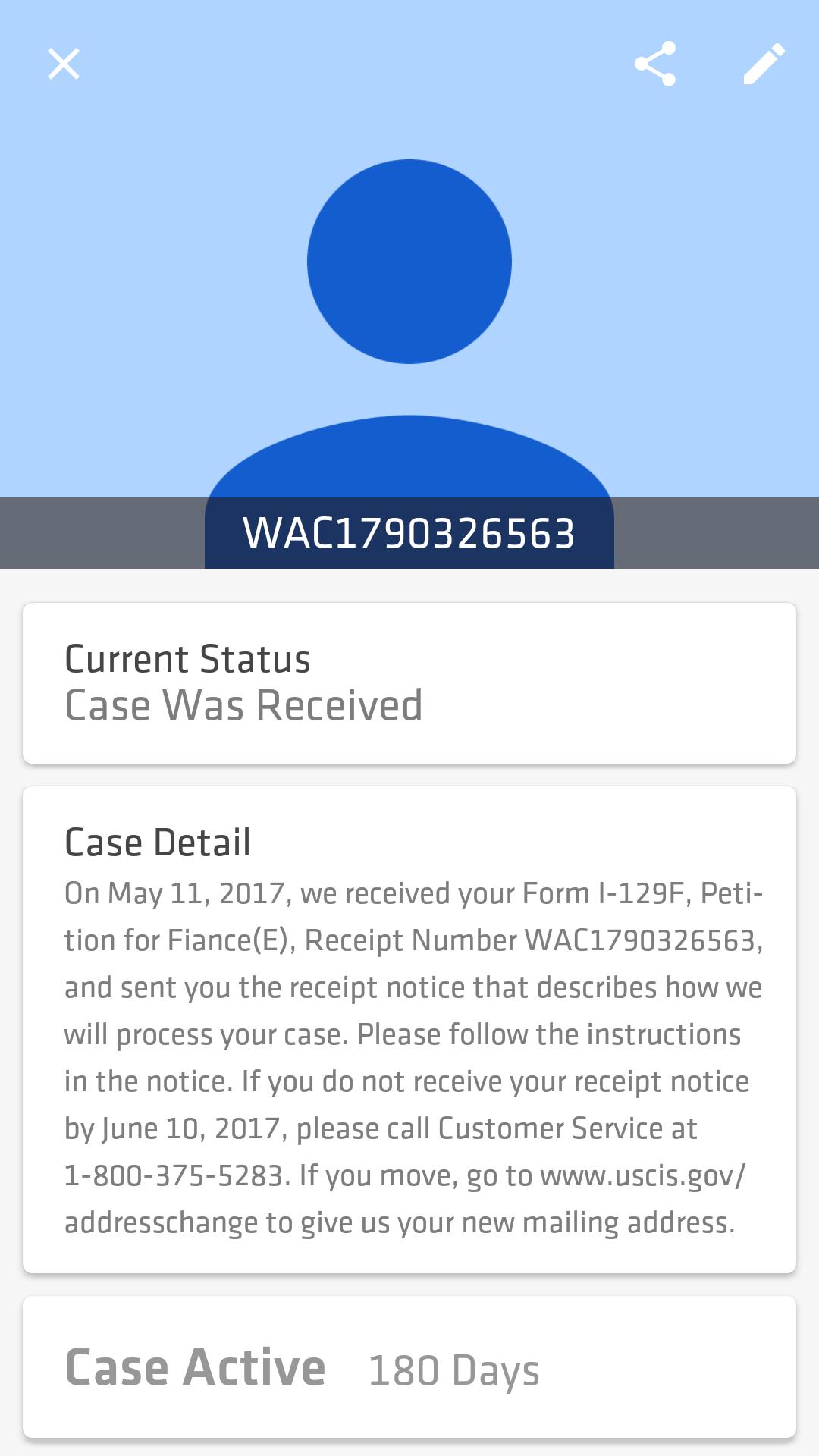 I 129f May 2017 Filers Page 543 K 1 Fiancee Visa Case Filing