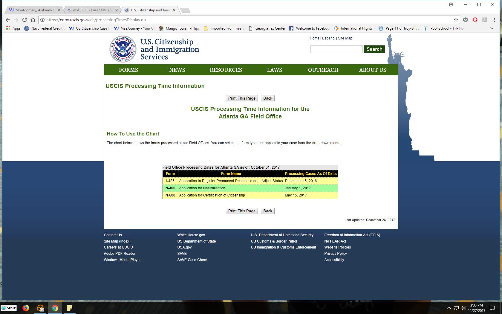 Montgomery, Alabama Field Office - US Citizenship Case