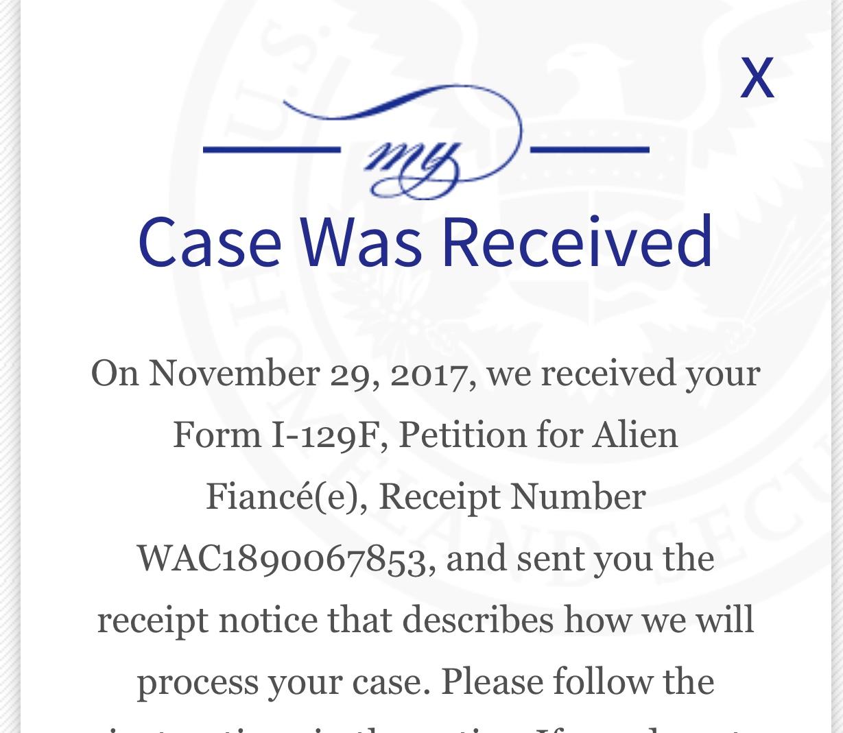 October 2017 I-129F Filers, Part III - Page 68 - K-1 Fiance(e) Visa