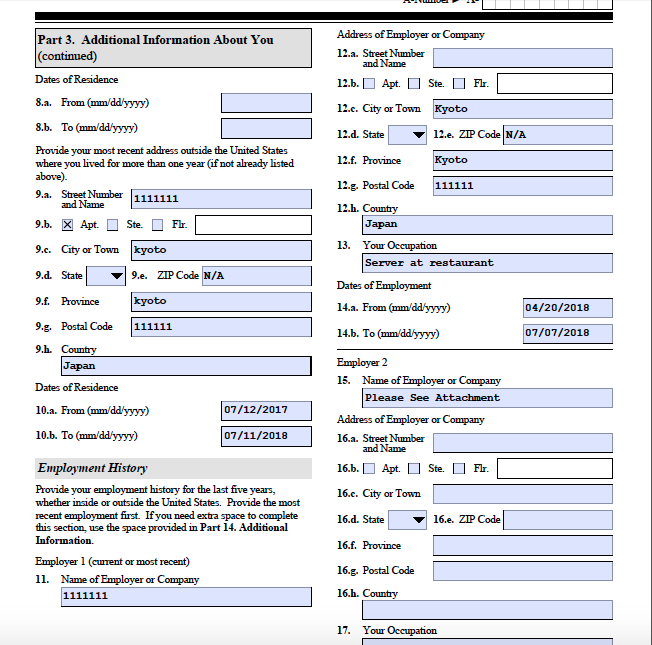 form i 485 is your current spouse applying with you  Few Questions about I-11 - Adjustment of Status Case Filing ...