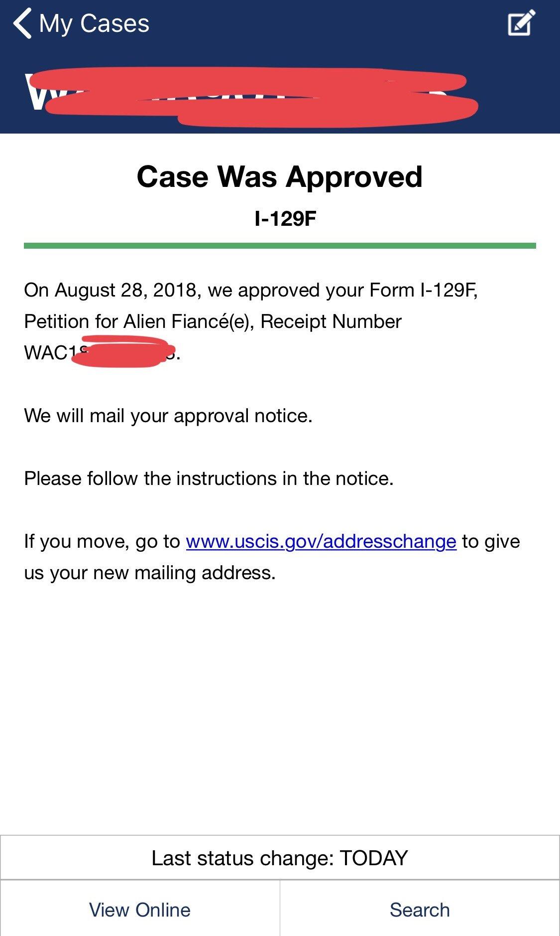 I 129f February 2018 Filer Page 187 K 1 Fiancee Visa Case