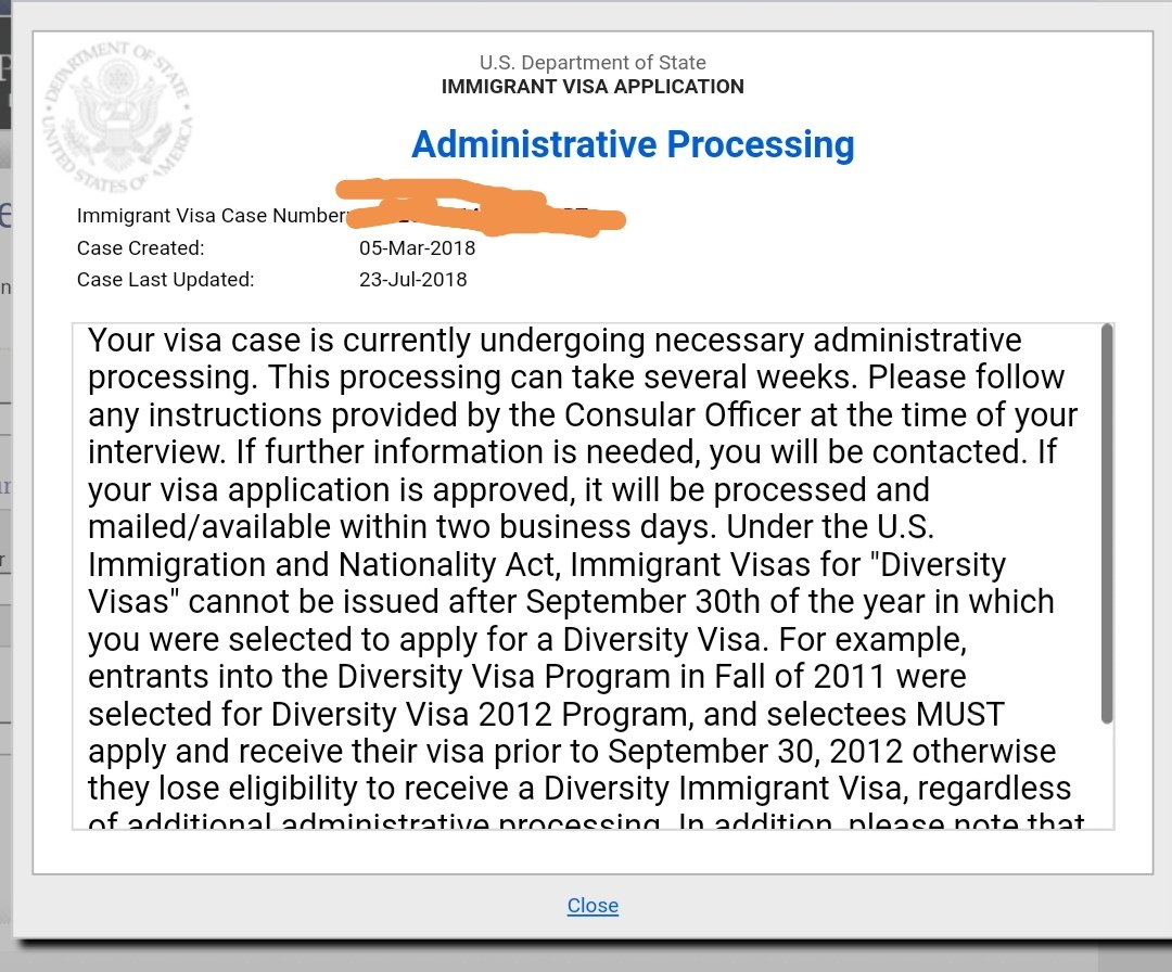US Immigration from Lebanon - Waivers and Admin Processing