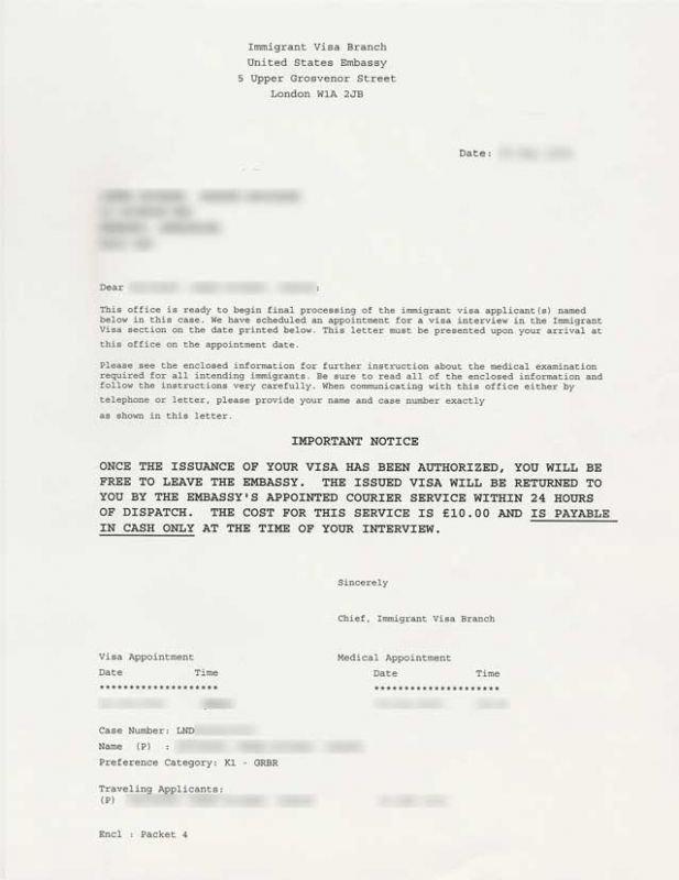 Packet 4 London Letter