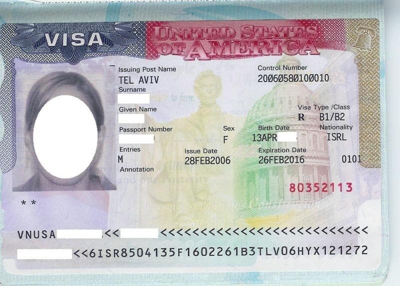 B1 B2 US Visitors Visa