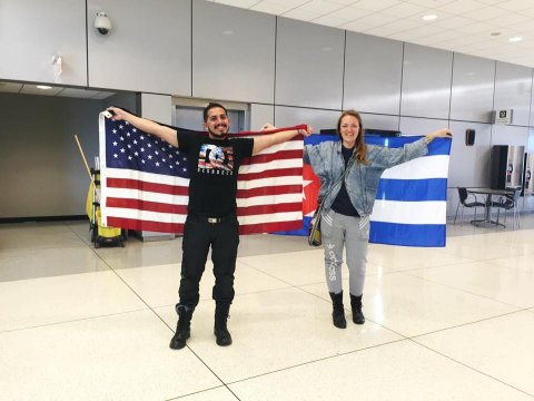 Jose arrives in the USA!