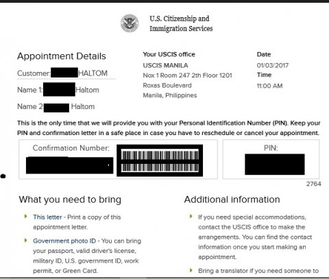 US Immigration Documents & Photos