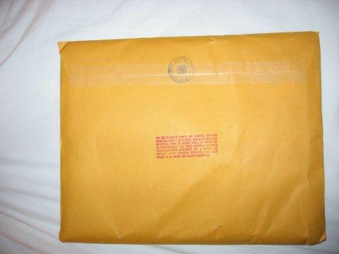 K1 Brown Envelope Side 2