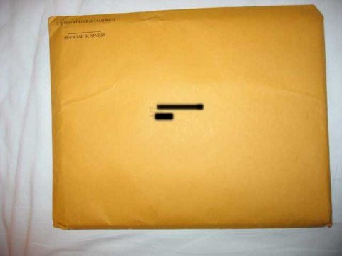 K1 Visa Brown Envelope