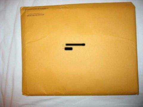 K1 Brown Envelope Side 1