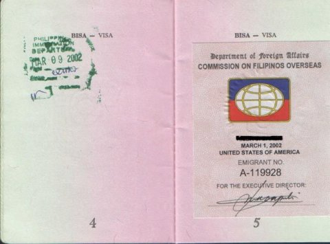 Philippines CFO Sticker Example