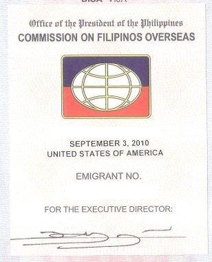 Philippines CFO Sticker Sample