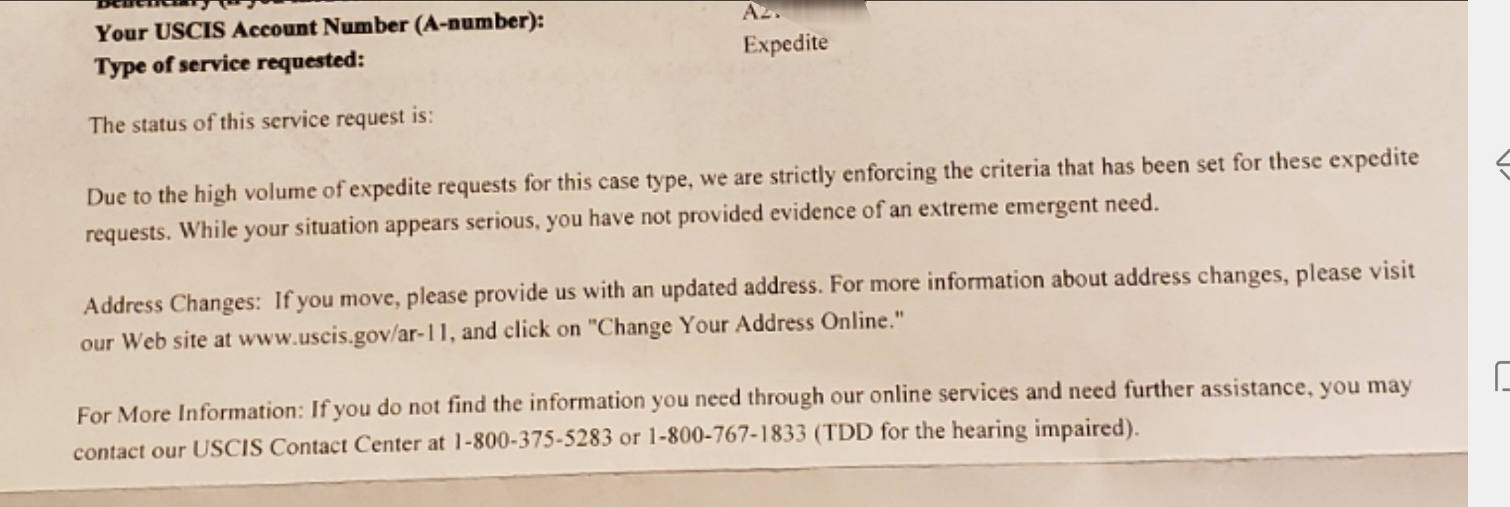 EAD Expedite Timeline After Fax Request - Page 39 - Adjustment of