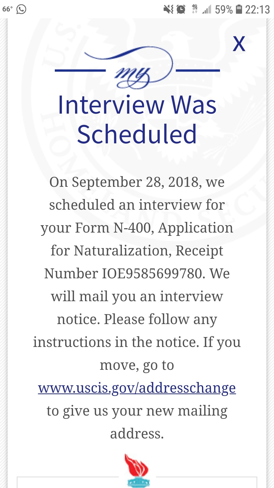 N 400 August 2018 Filers Page 32 Us Citizenship Case Filing And