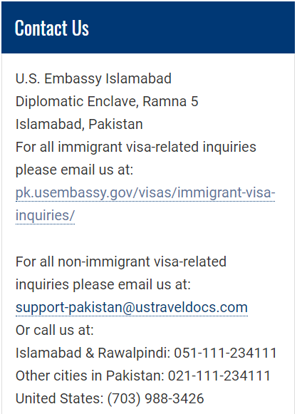 In AP after interview  Got email from islamabad embassy