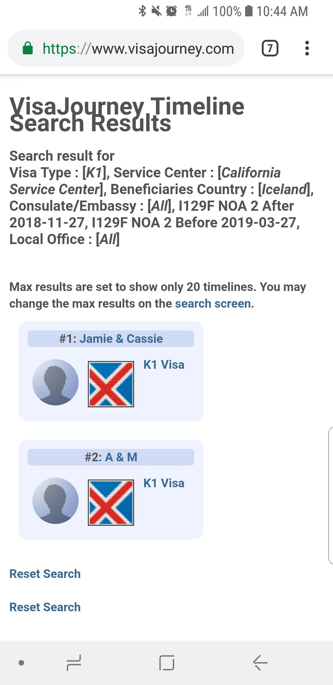 JANUARY 2019 K-1 NOA2 ----> NVC - Page 72 - K-1 Fiance(e) Visa Case