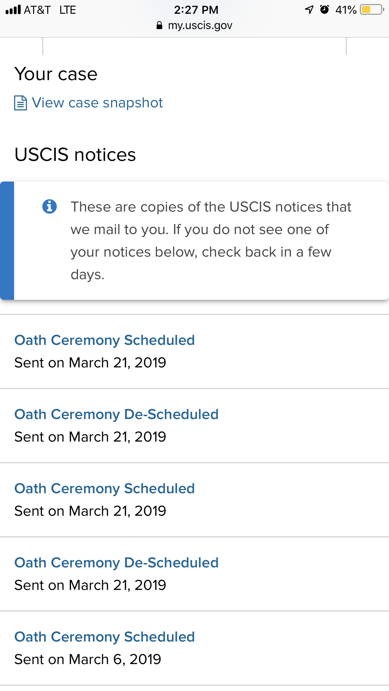 Ceremony de-scheduled  !!!!!! Is normal? - US Citizenship General