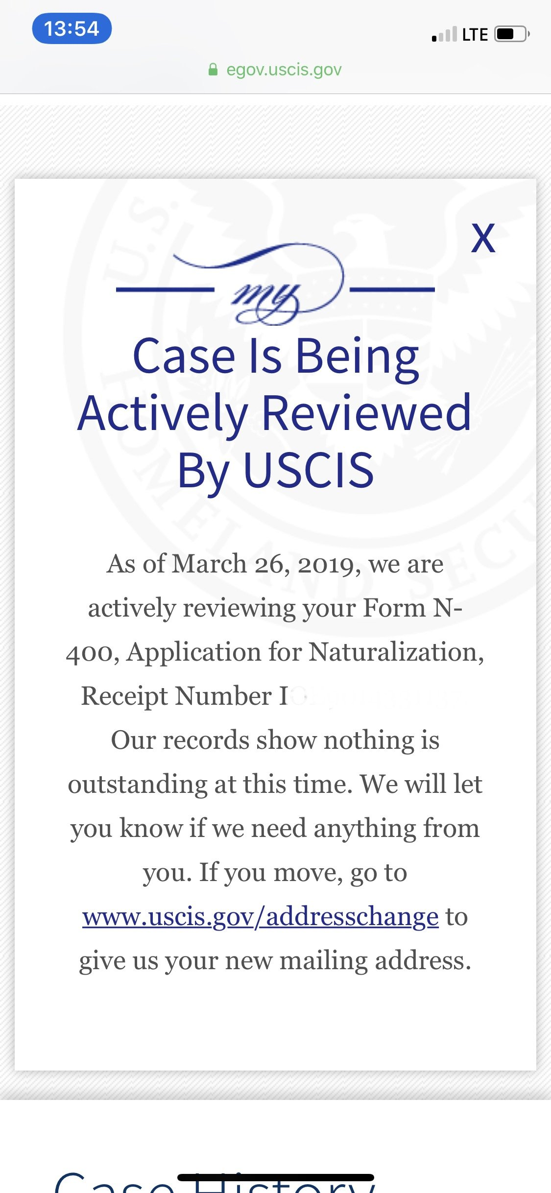 N-400 March 2019 Filers - Page 11 - US Citizenship Case Filing and