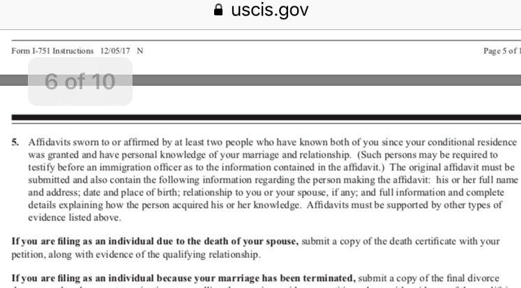 Affidavit Of Support Marriage Sample Letter from www.visajourney.com