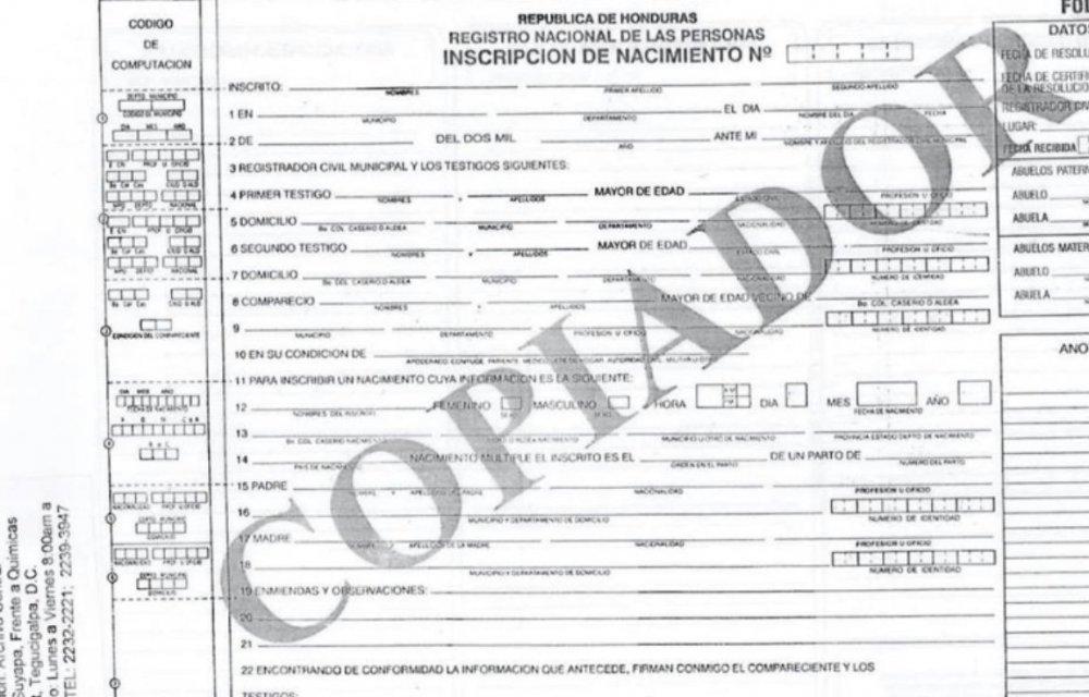 birth certificate folio copy acceptable visajourney translation spouse