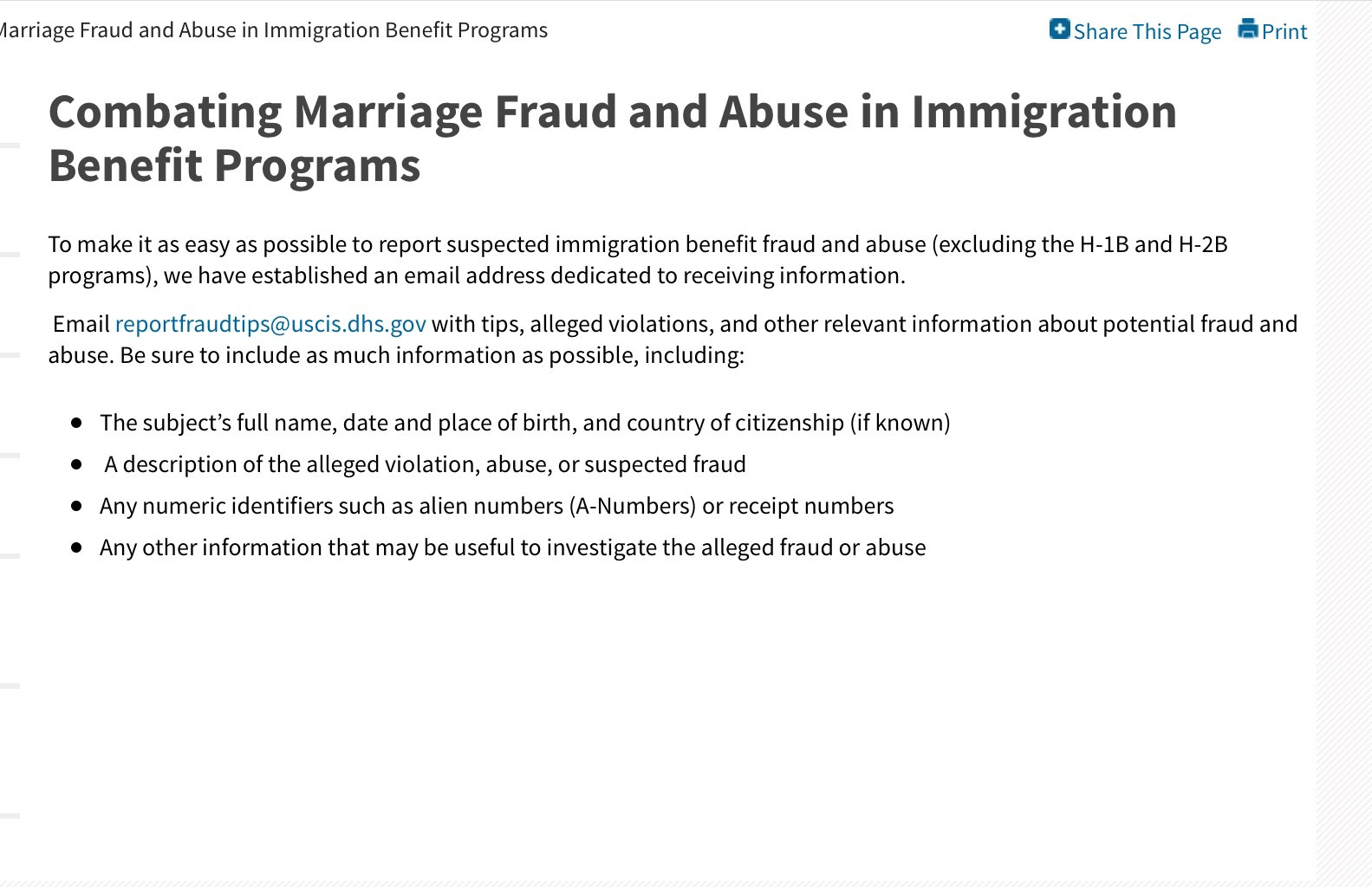 Immigration Fraud Bringing Family Members Of Us Citizens To America Visajourney