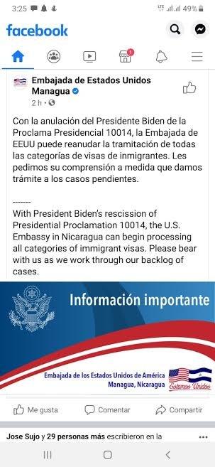 Managua Embassy open to process visas.jpg